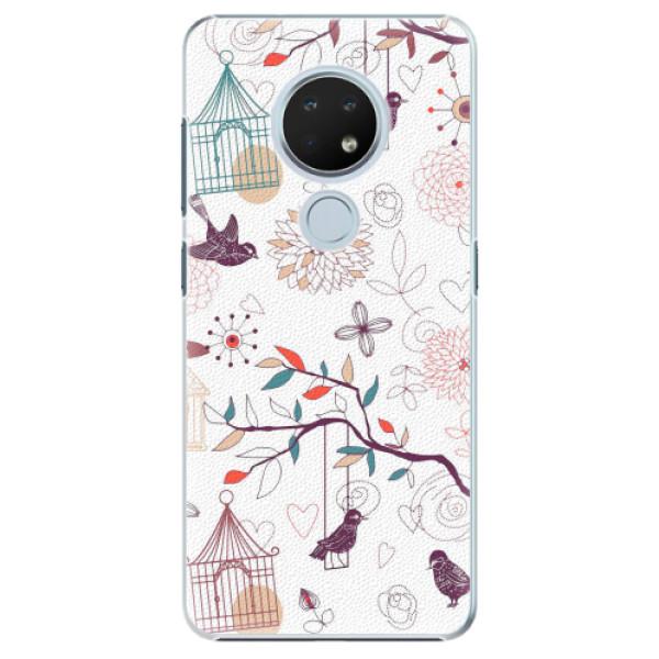 Plastové pouzdro iSaprio - Birds - Nokia 6.2