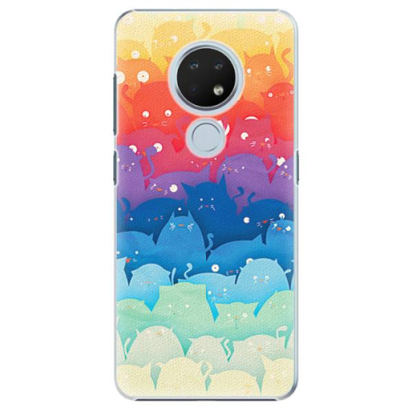 Plastové pouzdro iSaprio - Cats World - Nokia 6.2