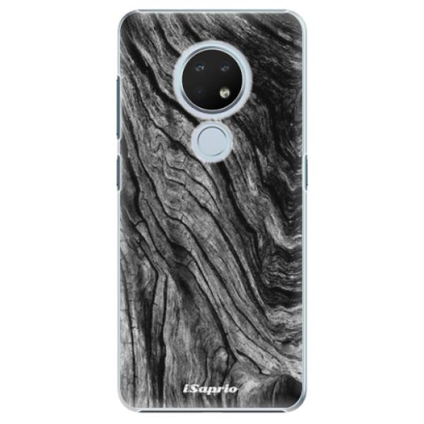 Plastové pouzdro iSaprio - Burned Wood - Nokia 6.2