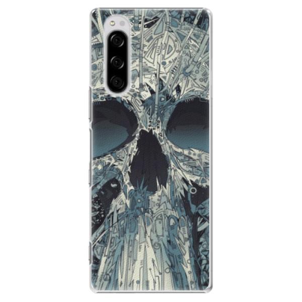 Plastové pouzdro iSaprio - Abstract Skull - Sony Xperia 5