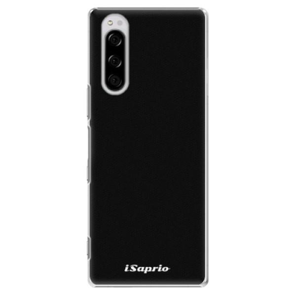 Plastové pouzdro iSaprio - 4Pure - černý - Sony Xperia 5