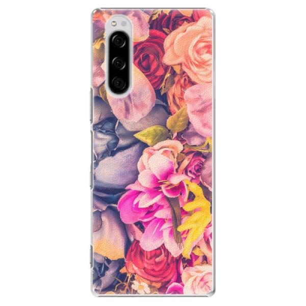 Plastové pouzdro iSaprio - Beauty Flowers - Sony Xperia 5