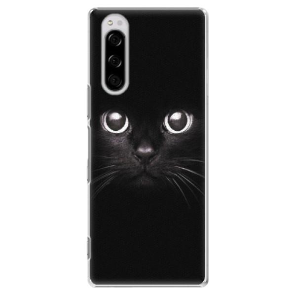 Plastové pouzdro iSaprio - Black Cat - Sony Xperia 5