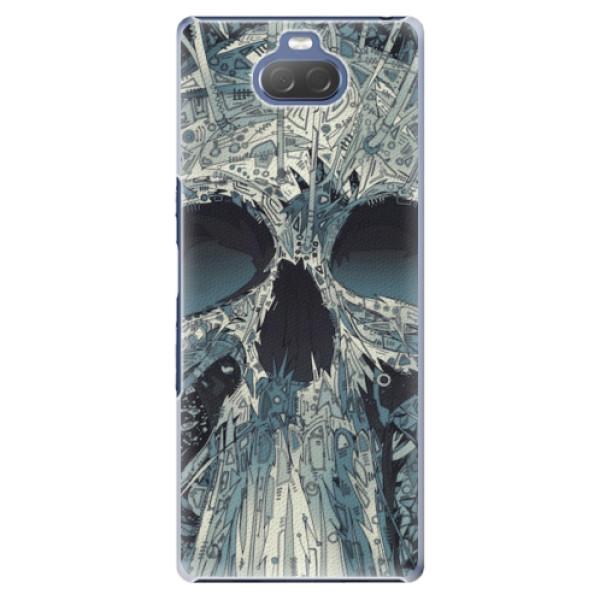 Plastové pouzdro iSaprio - Abstract Skull - Sony Xperia 10