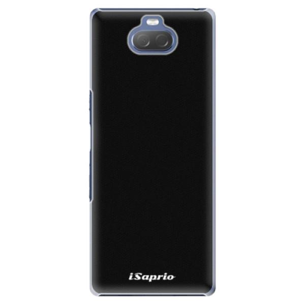 Plastové pouzdro iSaprio - 4Pure - černý - Sony Xperia 10