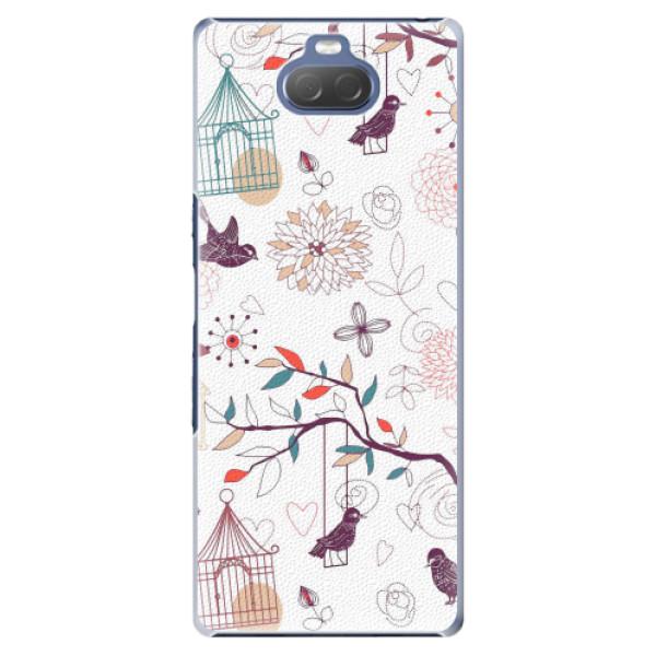 Plastové pouzdro iSaprio - Birds - Sony Xperia 10