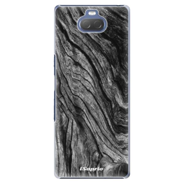 Plastové pouzdro iSaprio - Burned Wood - Sony Xperia 10
