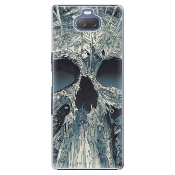 Plastové pouzdro iSaprio - Abstract Skull - Sony Xperia 10 Plus