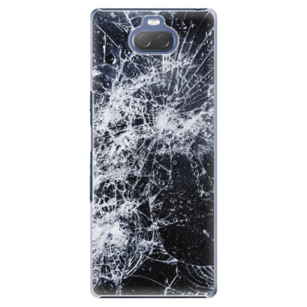 Plastové pouzdro iSaprio - Cracked - Sony Xperia 10 Plus