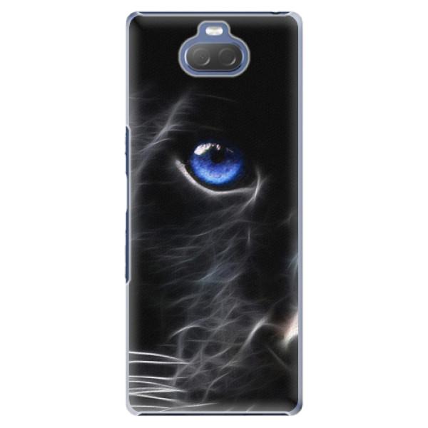 Plastové pouzdro iSaprio - Black Puma - Sony Xperia 10 Plus