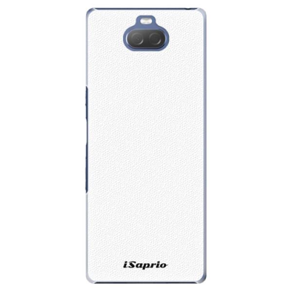 Plastové pouzdro iSaprio - 4Pure - bílý - Sony Xperia 10 Plus