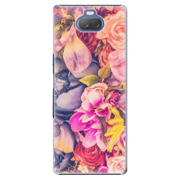Plastové pouzdro iSaprio - Beauty Flowers - Sony Xperia 10 Plus