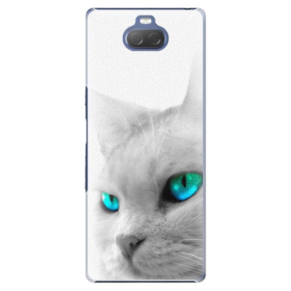 Plastové pouzdro iSaprio - Cats Eyes - Sony Xperia 10 Plus