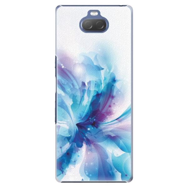 Plastové pouzdro iSaprio - Abstract Flower - Sony Xperia 10 Plus