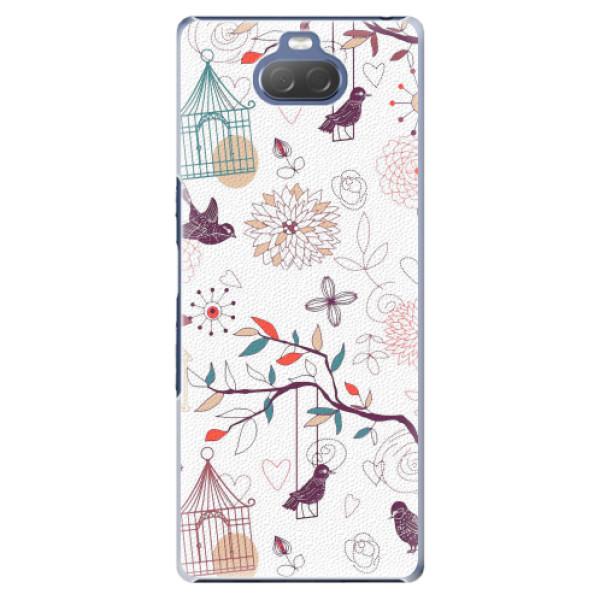 Plastové pouzdro iSaprio - Birds - Sony Xperia 10 Plus