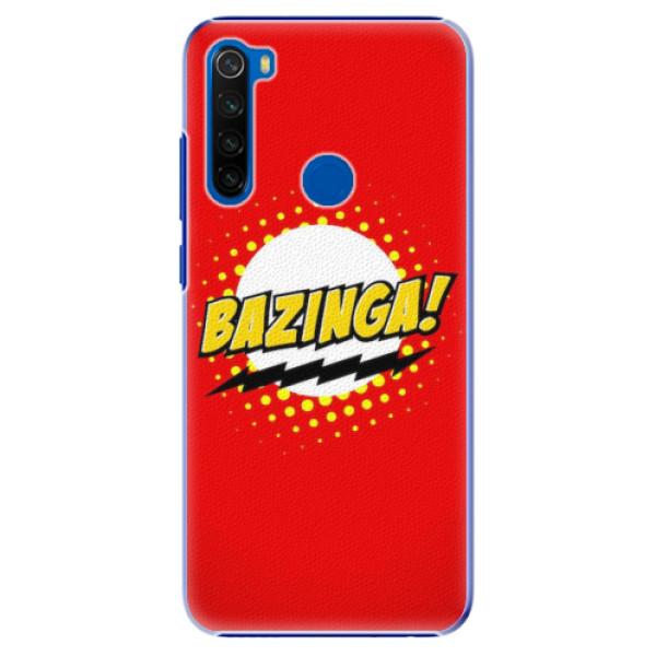 Plastové pouzdro iSaprio - Bazinga 01 - Xiaomi Redmi Note 8T