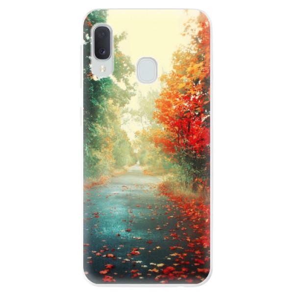Odolné silikonové pouzdro iSaprio - Autumn 03 - Samsung Galaxy A20e