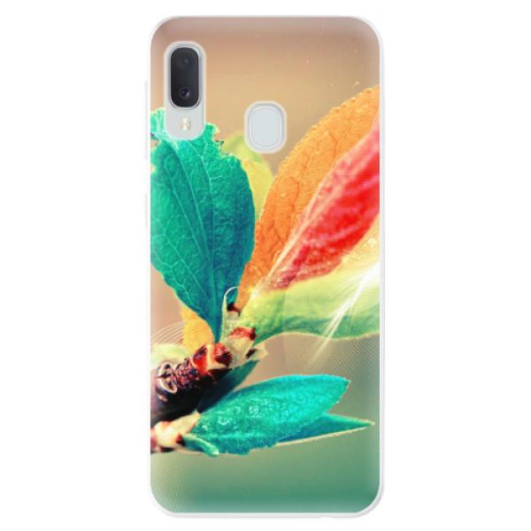 Odolné silikonové pouzdro iSaprio - Autumn 02 - Samsung Galaxy A20e