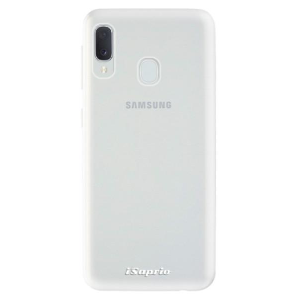 Odolné silikonové pouzdro iSaprio - 4Pure - mléčný bez potisku - Samsung Galaxy A20e