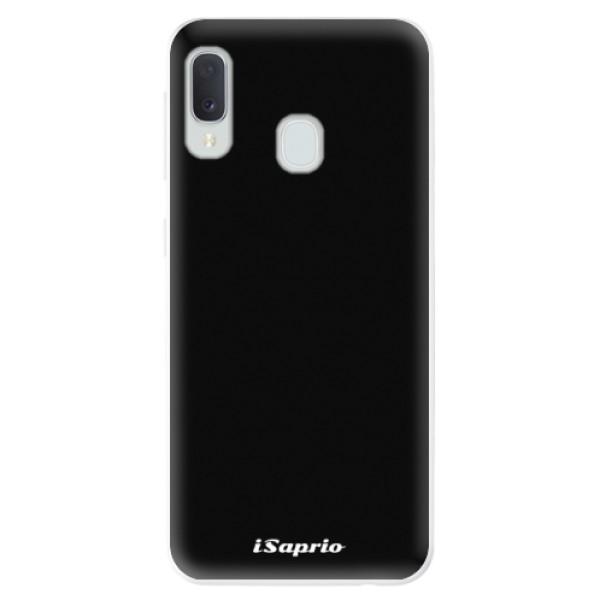 Odolné silikonové pouzdro iSaprio - 4Pure - černý - Samsung Galaxy A20e
