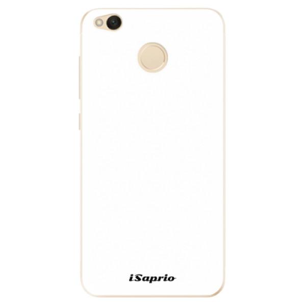 Odolné silikonové pouzdro iSaprio - 4Pure - bílý - Xiaomi Redmi 4X