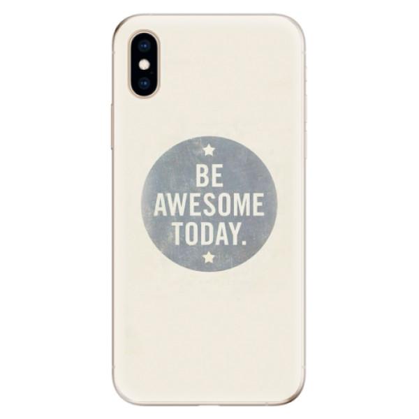 Odolné silikonové pouzdro iSaprio - Awesome 02 - iPhone XS