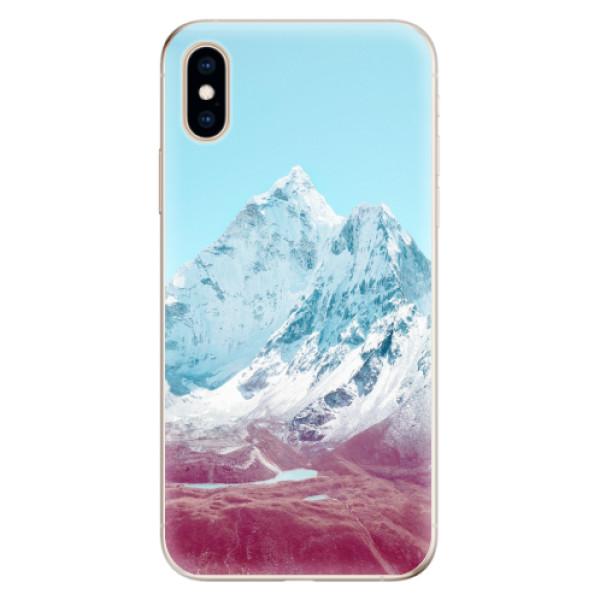 Odolné silikonové pouzdro iSaprio - Highest Mountains 01 - iPhone XS