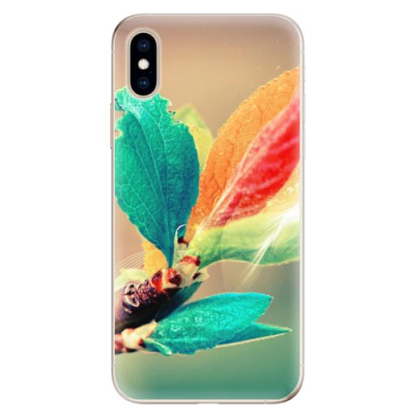Odolné silikonové pouzdro iSaprio - Autumn 02 - iPhone XS