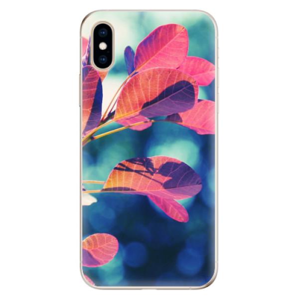 Odolné silikonové pouzdro iSaprio - Autumn 01 - iPhone XS