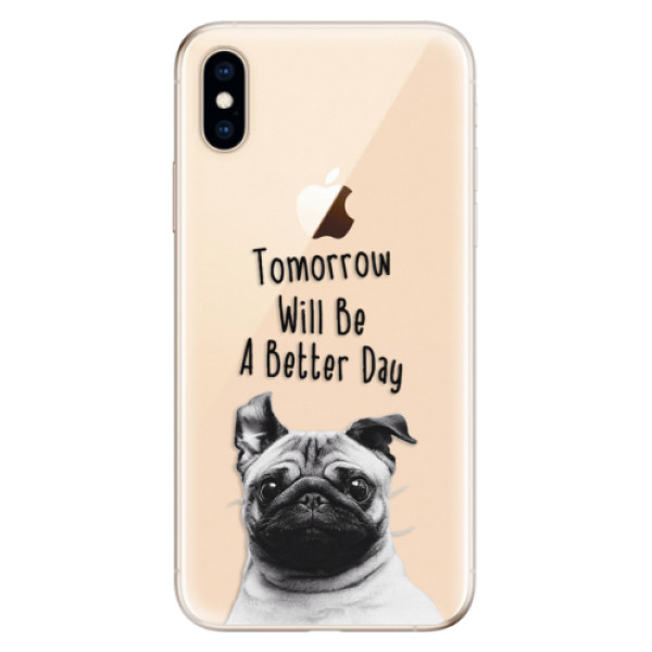 Odolné silikonové pouzdro iSaprio - Better Day 01 - iPhone XS