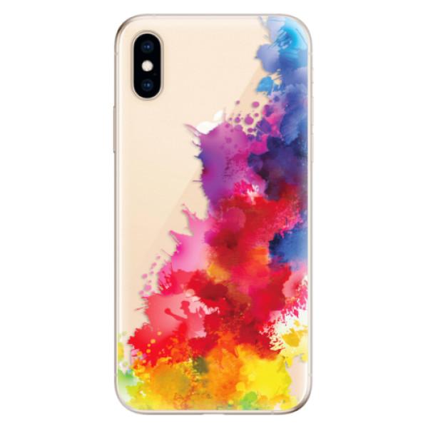 Odolné silikonové pouzdro iSaprio - Color Splash 01 - iPhone XS