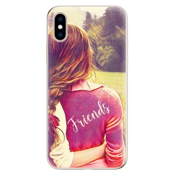 Odolné silikonové pouzdro iSaprio - BF Friends - iPhone XS