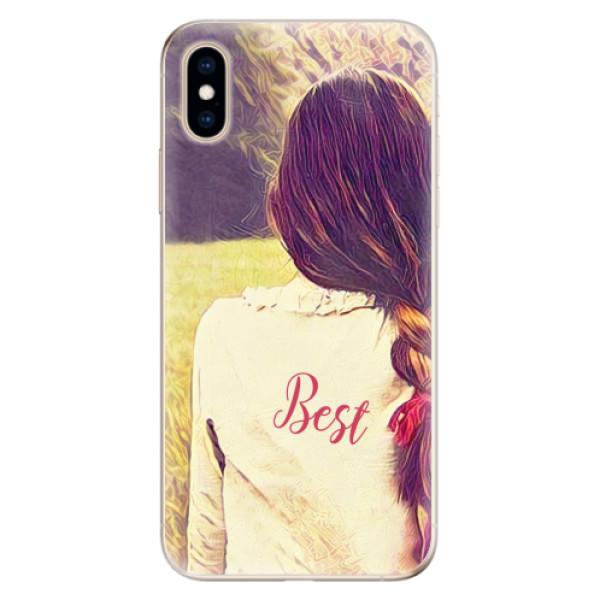 Odolné silikonové pouzdro iSaprio - BF Best - iPhone XS