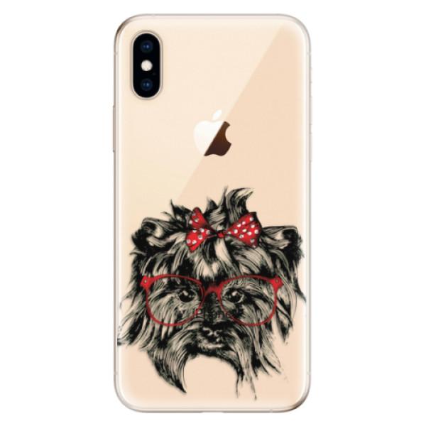 Odolné silikonové pouzdro iSaprio - Dog 03 - iPhone XS