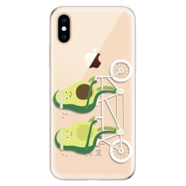 Odolné silikonové pouzdro iSaprio - Avocado - iPhone XS
