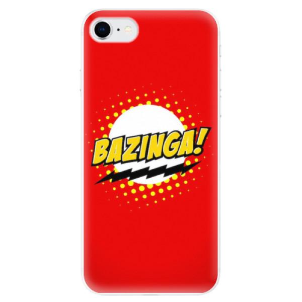 Odolné silikonové pouzdro iSaprio - Bazinga 01 - iPhone SE 2020