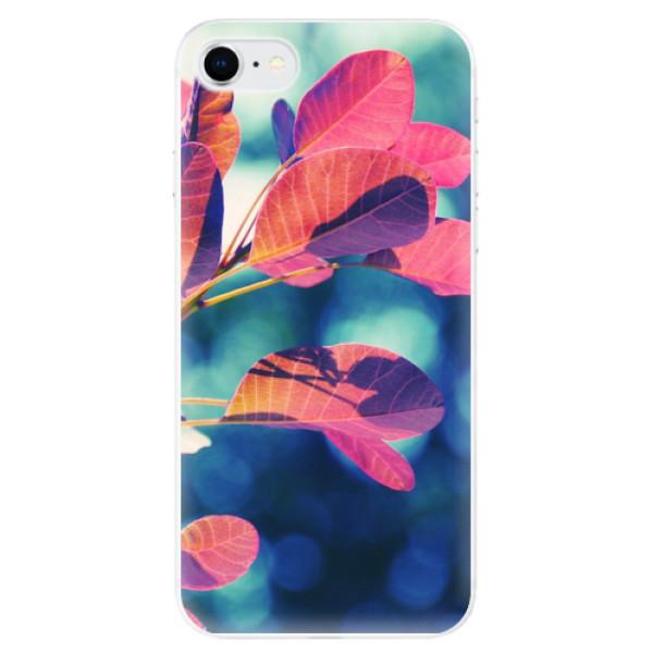 Odolné silikonové pouzdro iSaprio - Autumn 01 - iPhone SE 2020