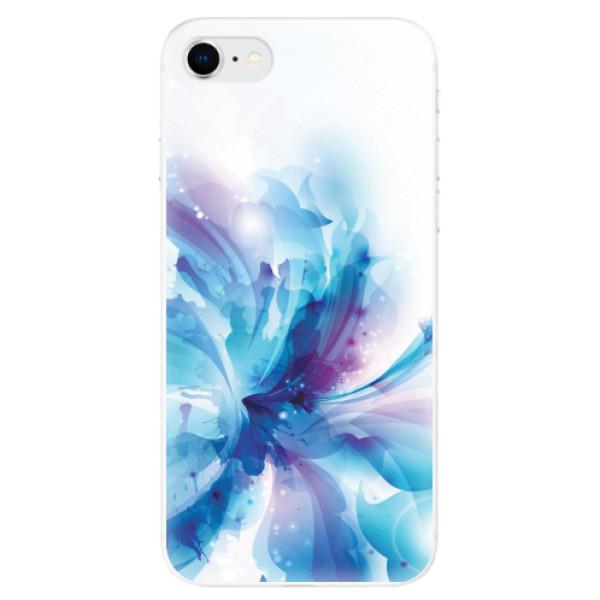Odolné silikonové pouzdro iSaprio - Abstract Flower - iPhone SE 2020