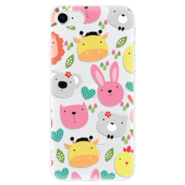 Odolné silikonové pouzdro iSaprio - Animals 01 - iPhone SE 2020