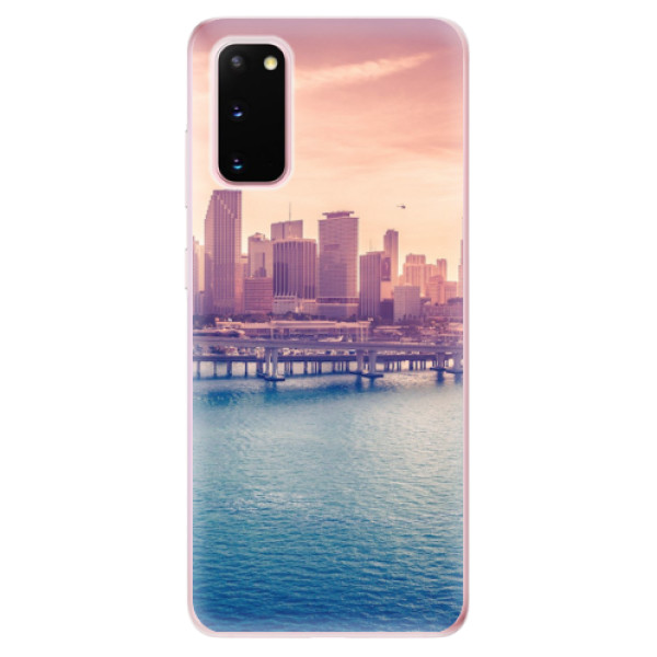 Odolné silikonové pouzdro iSaprio - Morning in a City - Samsung Galaxy S20