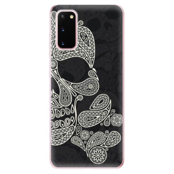 Odolné silikonové pouzdro iSaprio - Mayan Skull - Samsung Galaxy S20
