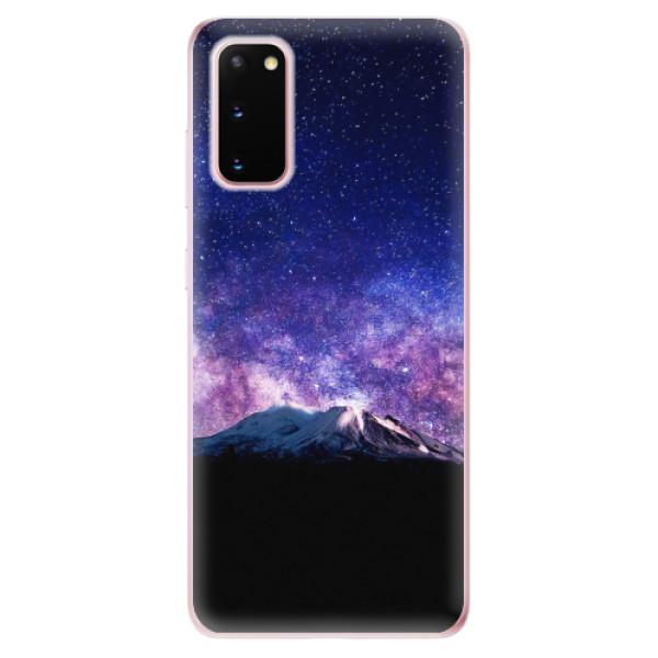 Odolné silikonové pouzdro iSaprio - Milky Way - Samsung Galaxy S20