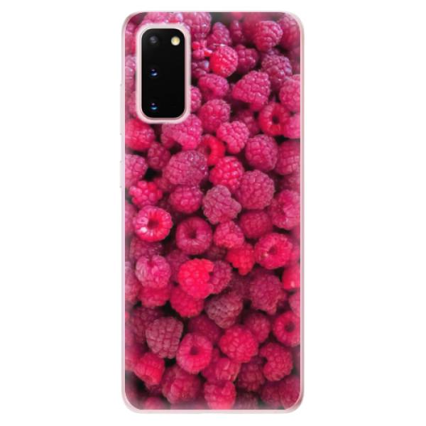 Odolné silikonové pouzdro iSaprio - Raspberry - Samsung Galaxy S20
