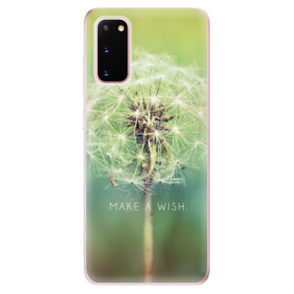 Odolné silikonové pouzdro iSaprio - Wish - Samsung Galaxy S20