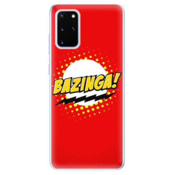 Odolné silikonové pouzdro iSaprio - Bazinga 01 - Samsung Galaxy S20+