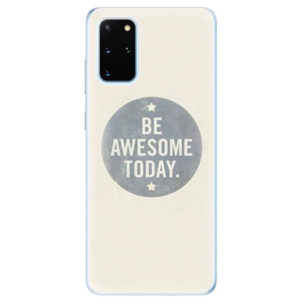 Odolné silikonové pouzdro iSaprio - Awesome 02 - Samsung Galaxy S20+