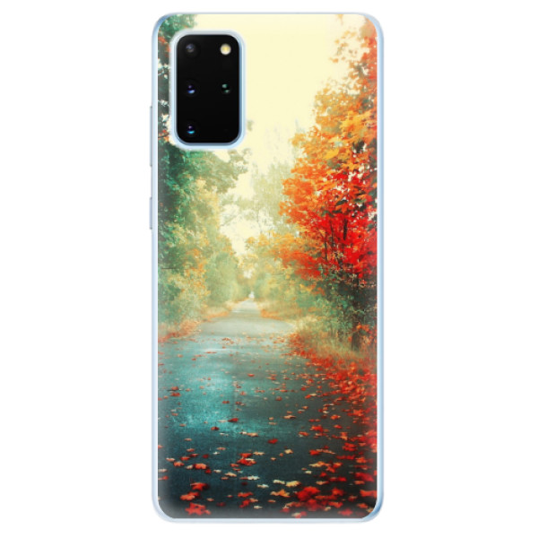 Odolné silikonové pouzdro iSaprio - Autumn 03 - Samsung Galaxy S20+