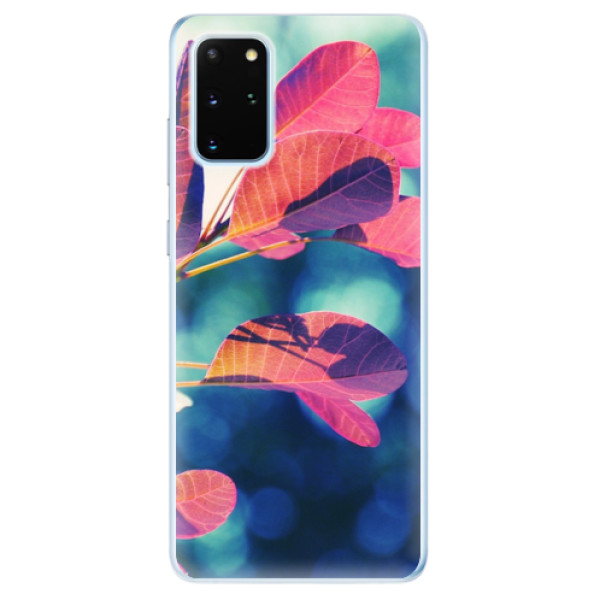 Odolné silikonové pouzdro iSaprio - Autumn 01 - Samsung Galaxy S20+