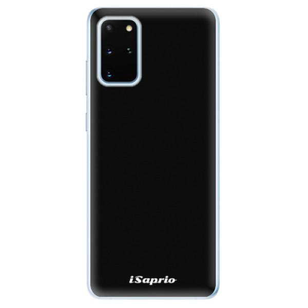 Odolné silikonové pouzdro iSaprio - 4Pure - černý - Samsung Galaxy S20+