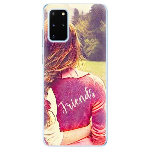 Odolné silikonové pouzdro iSaprio - BF Friends - Samsung Galaxy S20+